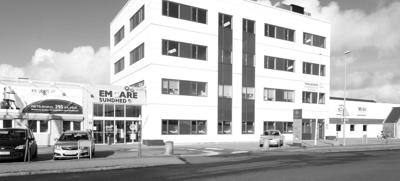 Sundhedshuset, Helgolandsgade 17 i Esbjerg